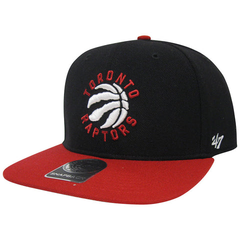 Toronto Raptors 47 Brand Men's SureShot 2-Tone Captain Snapback