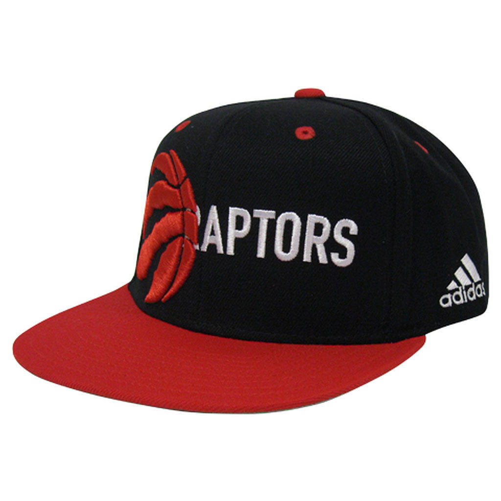 Toronto Raptors Adidas Men's Team Nation Partial Logo/Script Snapback - shop.realsports
