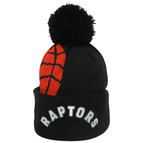 Toronto Raptors Adidas Men's Team Nation Cuffed Pom Toque