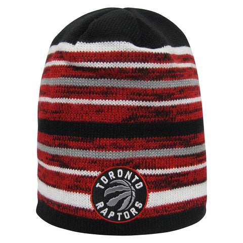 Toronto Raptors Adidas Men's Team Nation Striped Toque