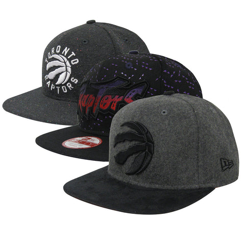 Toronto Raptors New Era Premium Six Hat Limited Edition Snapback Hat Collection
