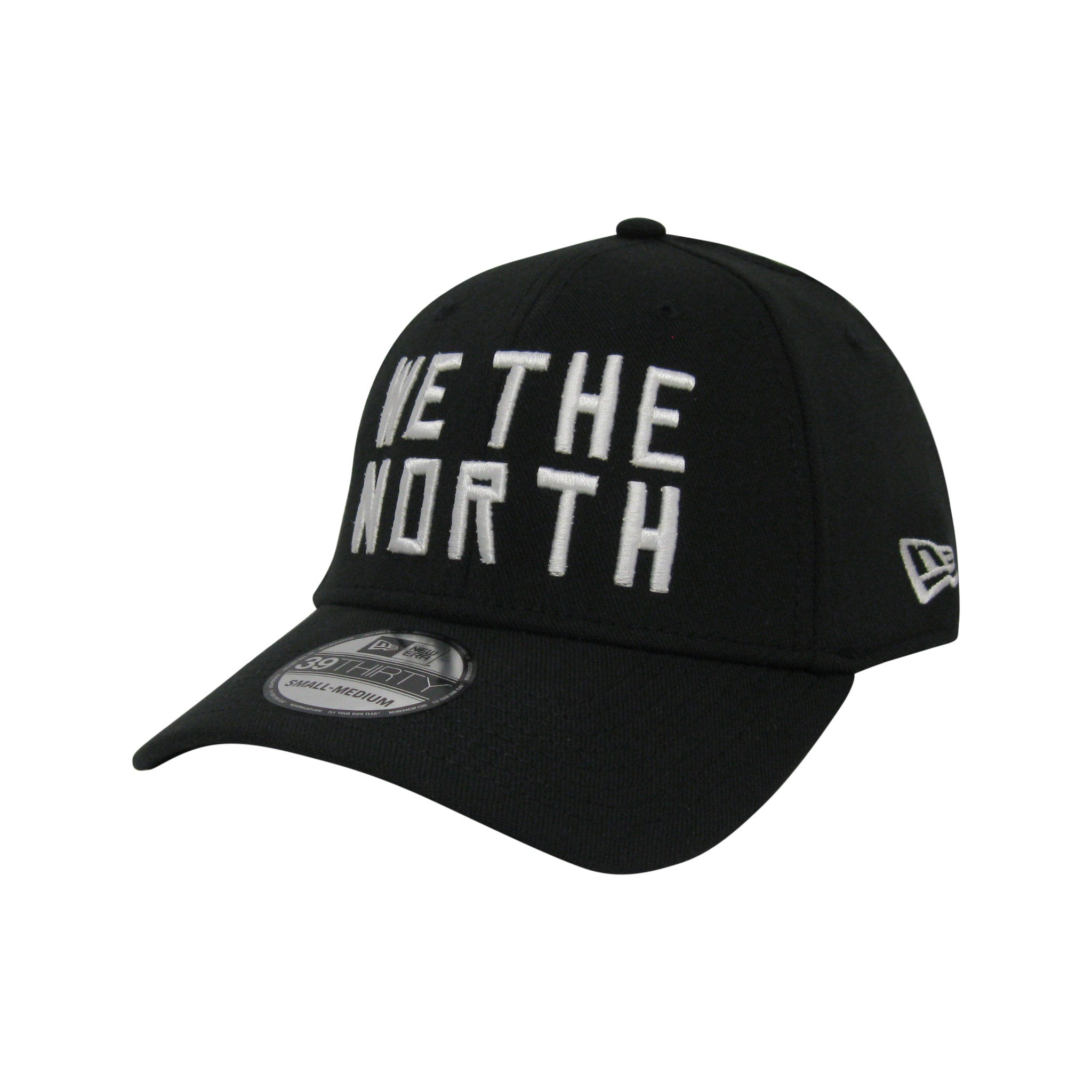 Toronto Raptors New Era Men's 'We the North' 3930 Stretch Fit Hat - shop.realsports