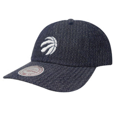 Toronto Raptors Mitchell & Ness Reverse Denim Dad Hat - shop.realsports