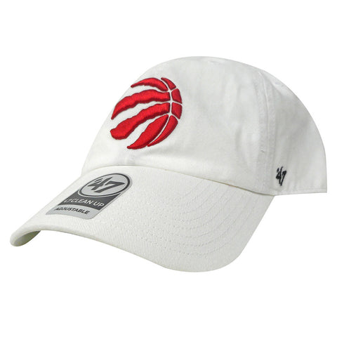 Toronto Raptors '47 Brand Clean Up Slouch Adjustable Hat