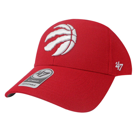 Toronto Raptors '47 Brand Men's MVP Structured Adjustable Hat - Red