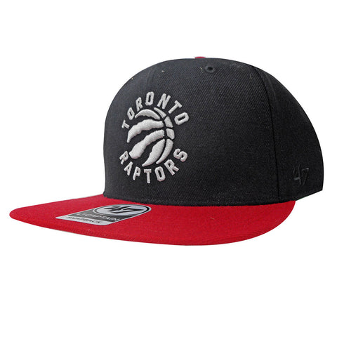 Toronto Raptors '47 Brand Men's Sure Shot Two Tone Captain Snapback