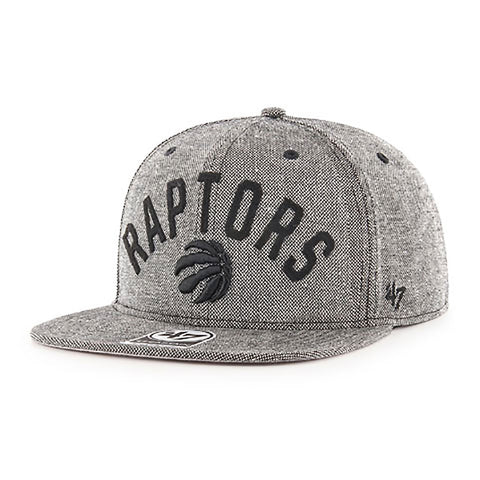 Toronto Raptors Men's Partial Logo Arch Captain Snapback Hat