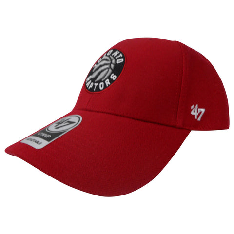 Toronto Raptors Men's MVP Adjustable Slouch Hat- Red