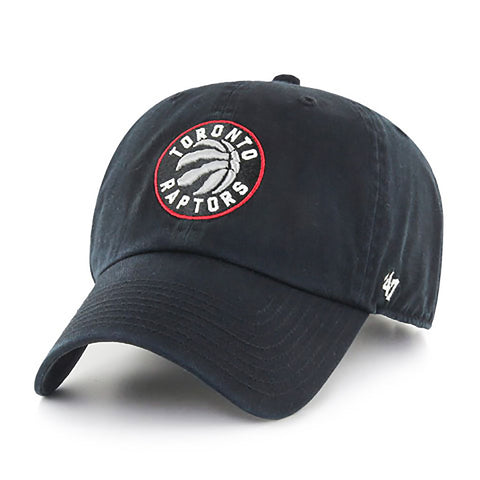 Toronto Raptors Men's Clean Up Adjustable Slouch Hat