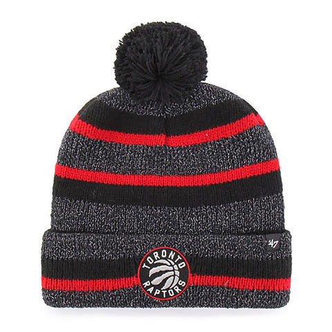 Toronto Raptors Men's Post Route Cuffed Pom Toque