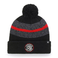 Raptors Men's Zone Cuffed Pom Toque