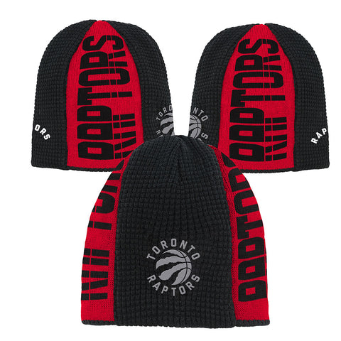Raptors Youth On Court Cuffless Toque