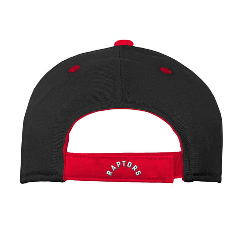 Toronto Raptors Youth Colourblock Structured Adjustable Hat