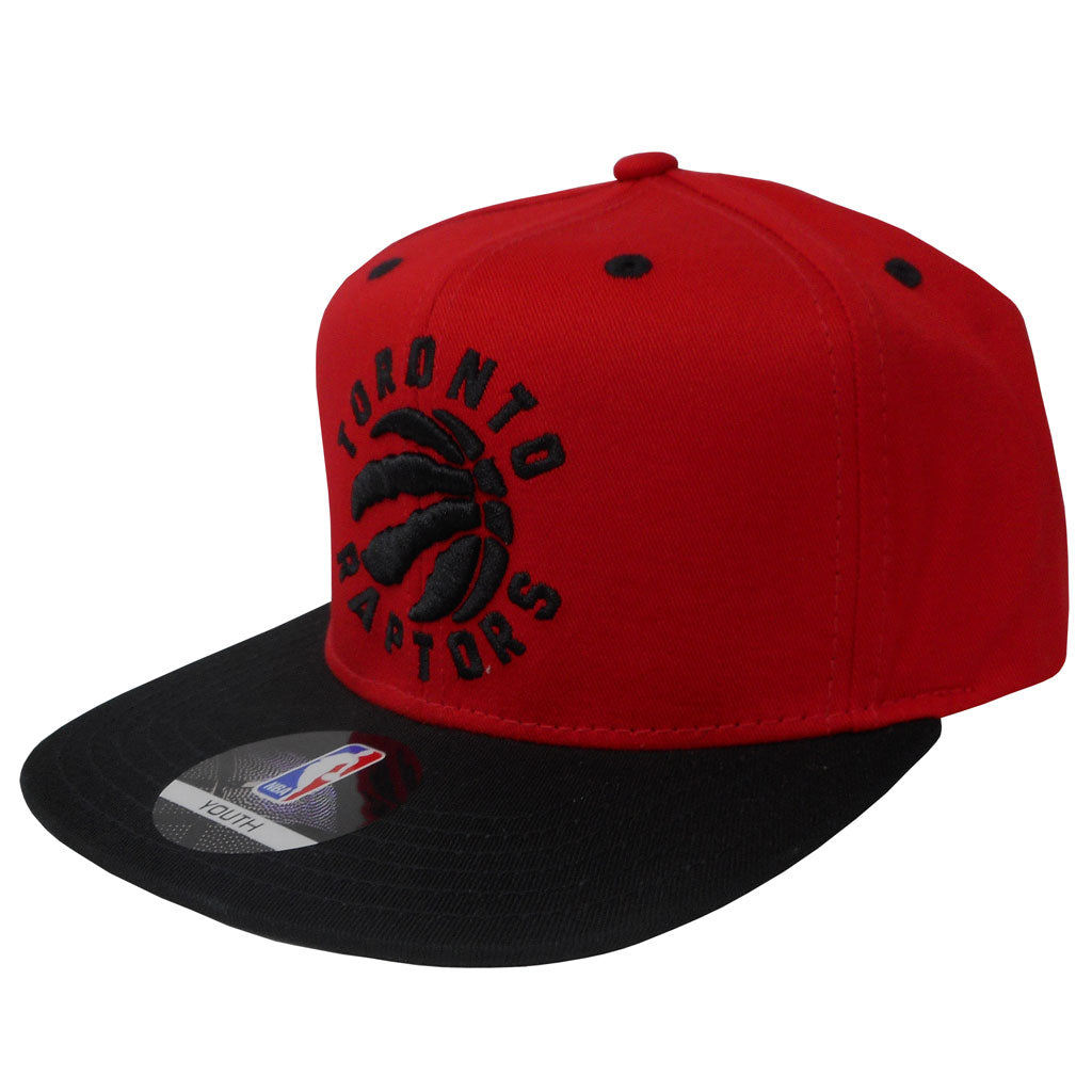 c242e425df094 Toronto Raptors Youth Two Tone Snapback Hat – shop.realsports