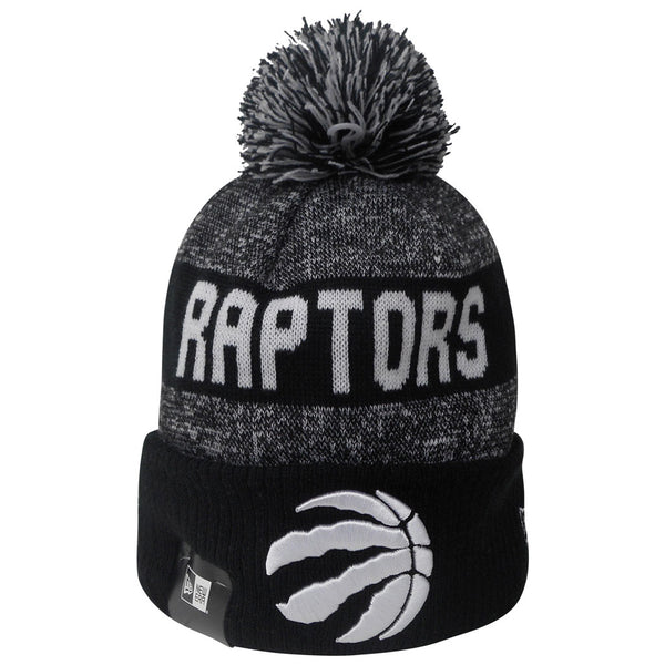 Toronto Raptors Men's Sport Knit Cuffed Pom Toque