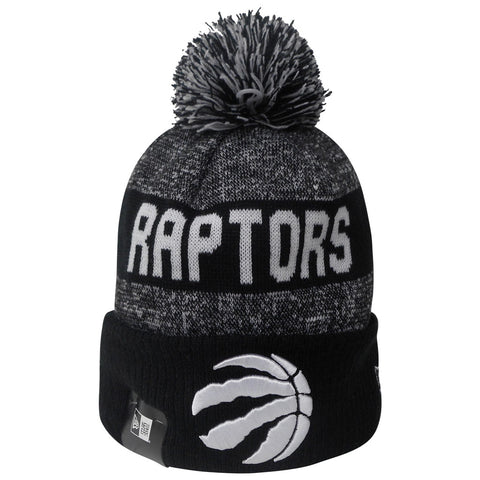 5f50e4b186d Raptors New Era Men s Sport Knit Cuffed Pom Toque