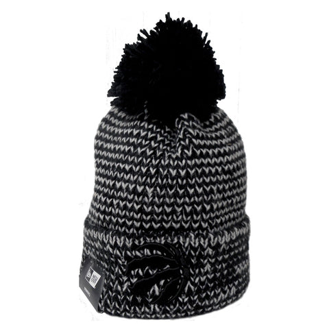 Toronto Raptors Ladies Frosty Cuffed Pom Toque