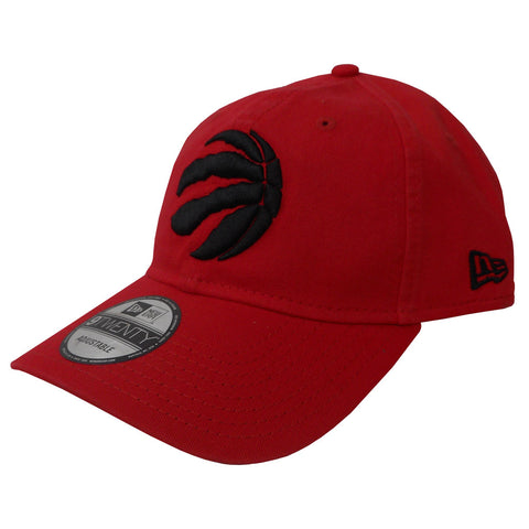 Toronto Raptors Men's Red Core Classic Canvas 920 Structured Adjustable Hat