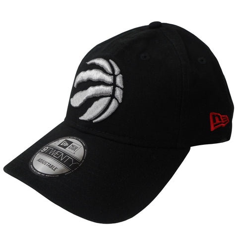 Toronto Raptors Men's Black Core Classic Canvas 920 Structured Adjustable Hat