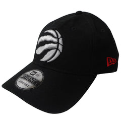 Toronto Raptors New Era Men's Black Core Classic Canvas 920 Structured Adjustable Hat