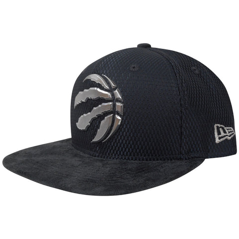 Toronto Raptors Men's Authentic On Court Grey 950 Snapback Hat