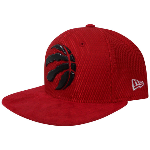 Toronto Raptors Youth Authentic On Court Red 950 Snapback Hat