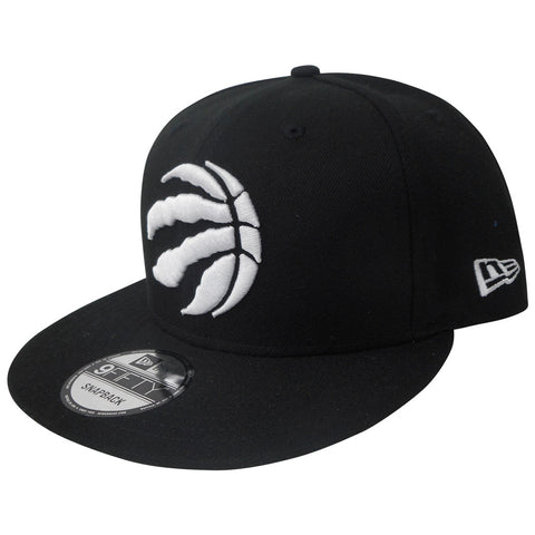 Toronto Raptors Men's Black Basic 950 Snapback Hat