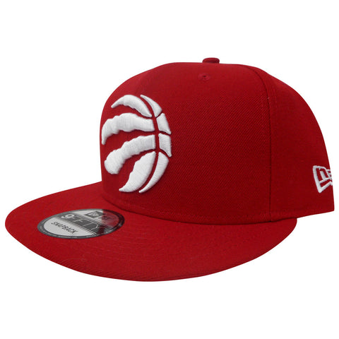 Toronto Raptors Men's Red Basic 950 Snapback Hat