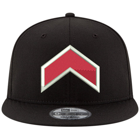 Toronto Raptors Uprising Adult 950 Snapback Hat- Black