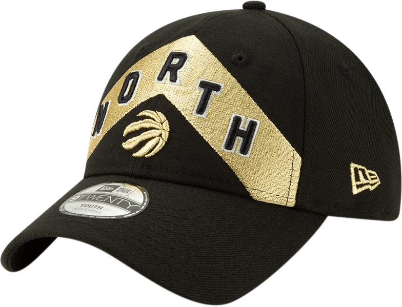 144bde14712 Toronto Raptors New Era Youth City 920 Slouch Adjustable Hat Black/Gol –  shop.realsports