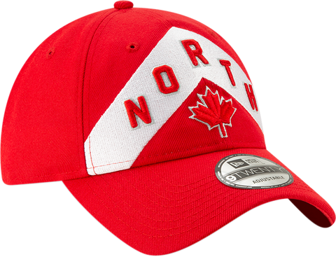 Raptors New Era Youth Earned Slouch Adjustable Hat