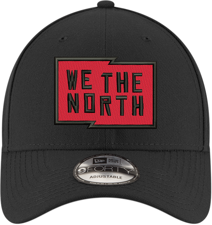 Raptors New Era Men's 'We the North' Structured Adjustable Hat