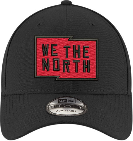 53bfac10acc ... Raptors New Era Men s  We the North  Structured Adjustable Hat