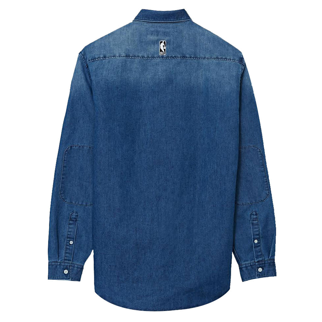 Raptors Frank & Oak Men's Washed Denim Longsleeve