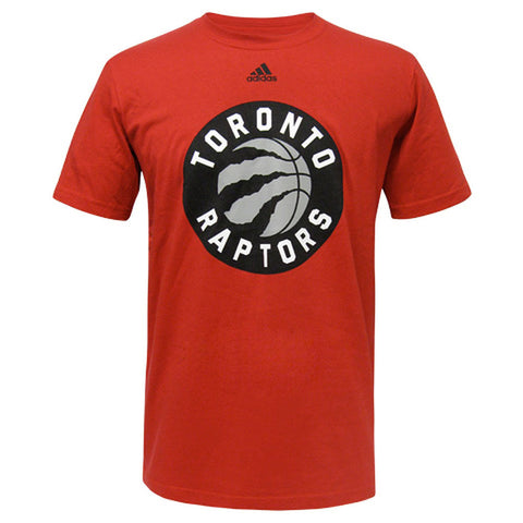 Toronto Raptors Adidas Men's Primary Logo S/S Tee - Red