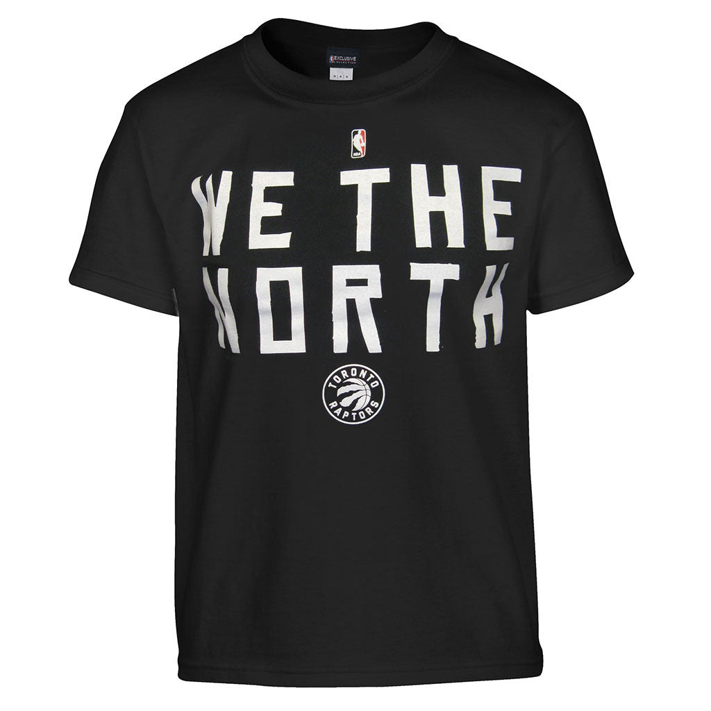 Toronto Raptors Majestic Men's Primary Logo 'We the North' S/S Shirt - shop.realsports
