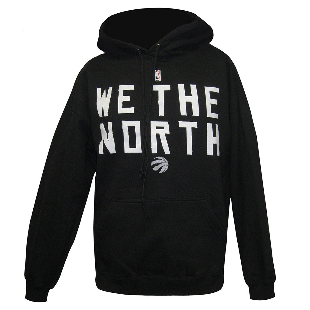 Toronto Raptors Majestic Men's Primary Logo 'We the North' Hoody - shop.realsports
