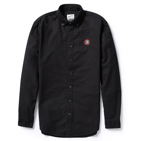 Toronto Raptors Frank & Oak Men's Court-Side Oxford L/S - Black