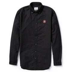 Toronto Raptors Frank & Oak Men's Court-Side Oxford L/S - Black - shop.realsports