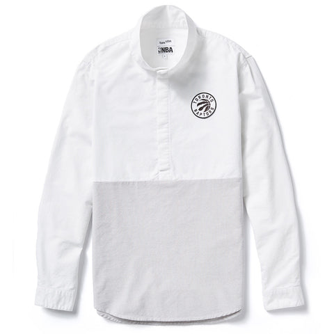 Toronto Raptors Frank & Oak Men's Oxford Pull-Over L/S