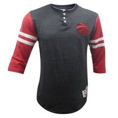 Toronto Raptors Mitchell & Ness Men's Home Stretch Henley