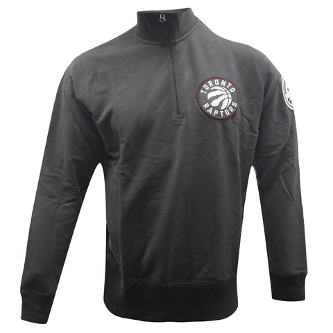 Toronto Raptors '47 Brand Men's Borderland Quarter Zip Pullover