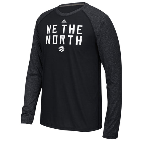 Toronto Raptors Adidas Men's We The North Ultimate Raglan Long Sleeve