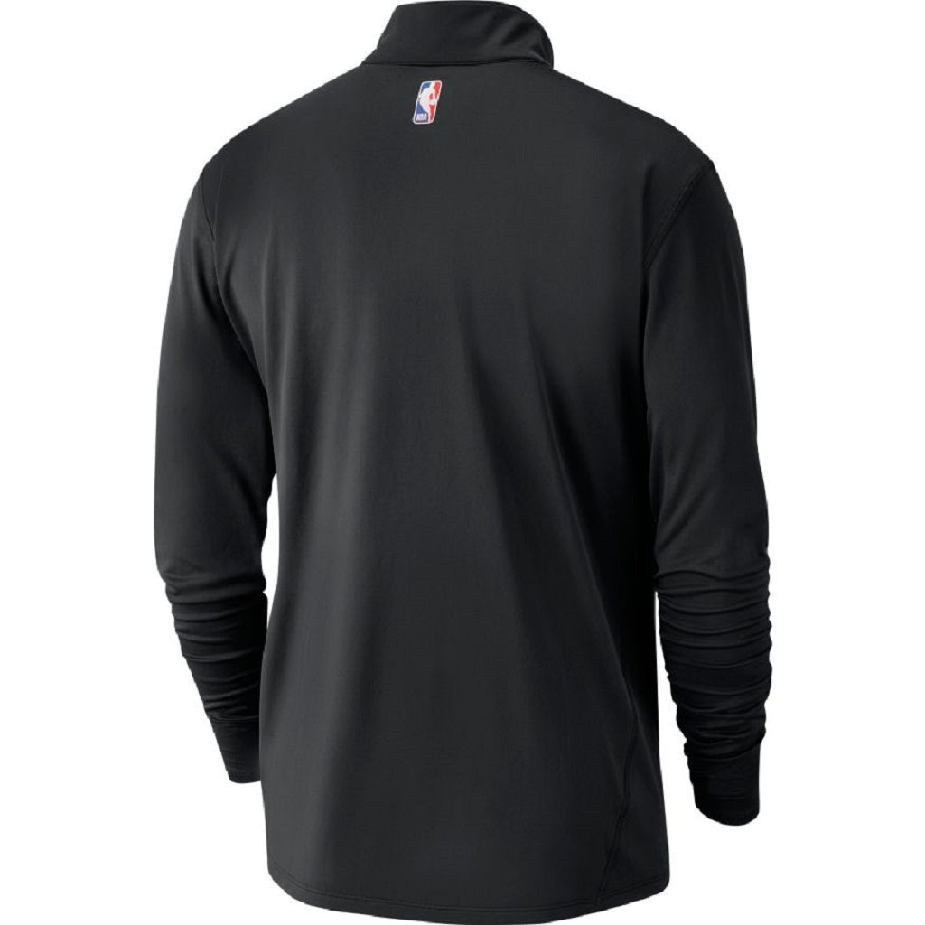 Toronto Raptors Nike Men's Partial Logo Element 1/2 Zip