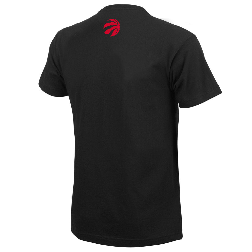 Toronto Raptors Men's North Over Everything Black S/S Tee