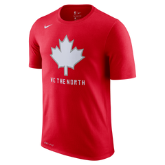Raptors Nike Men's Earned 'We the North' Leaf Tee
