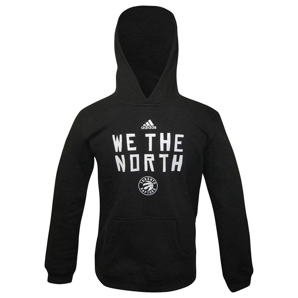 Toronto Raptors Adidas Youth Primary Logo 'We the North' Hoody - shop.realsports