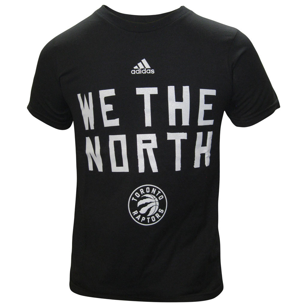 Toronto Raptors Adidas Youth Primary Logo 'We The North' S/S Shirt - shop.realsports