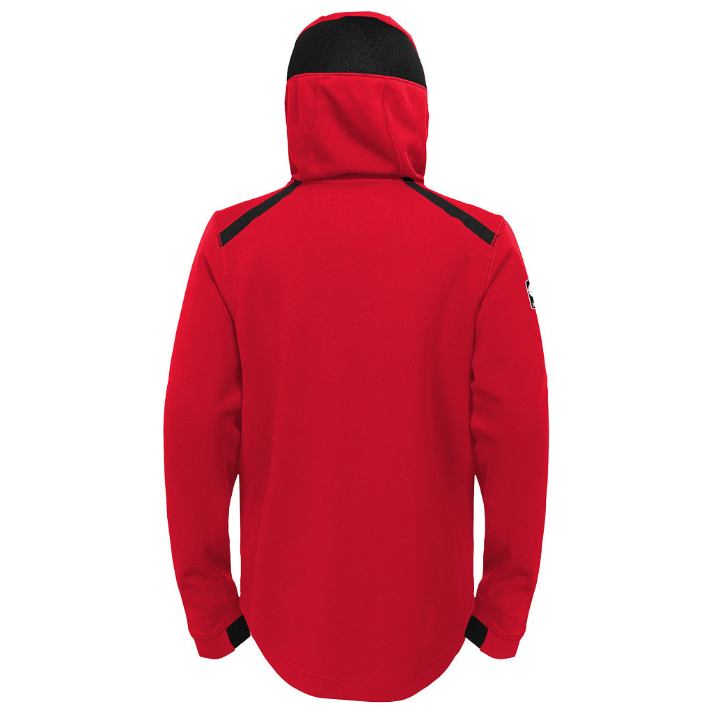 Toronto Raptors Nike Youth Partial Logo Showtime Full Zip Hoody