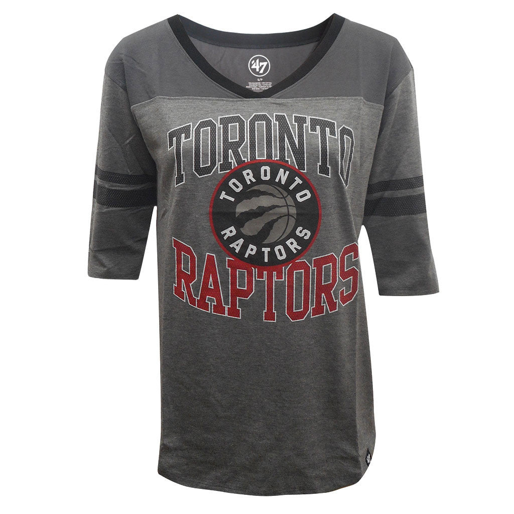 Toronto Raptors '47 Brand Ladies Replay Rush S/S Tee